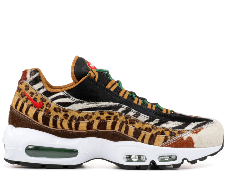 Nike Air Max 95 Atmos Animal Pack 2.0 (2018 All Black Box)