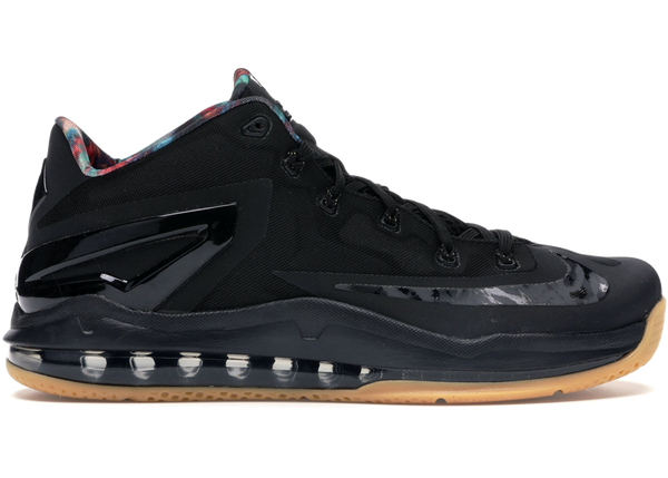 Nike LeBron 11 Low Black Gum