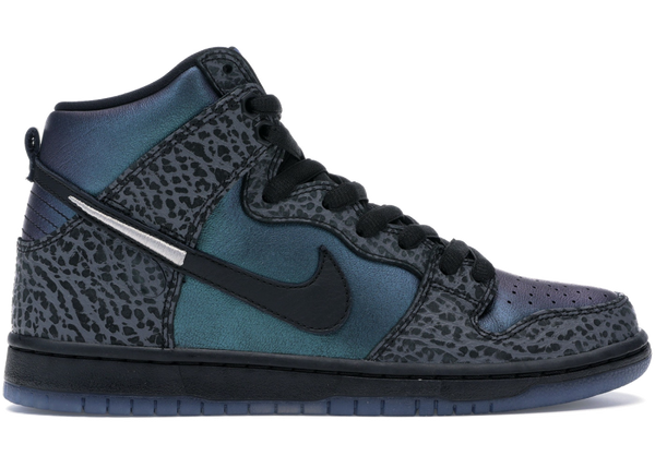 Nike SB Dunk High Black Sheep Hornet