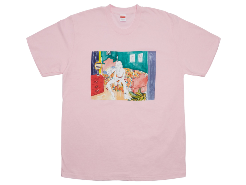 Supreme Bedroom Tee Light Pink