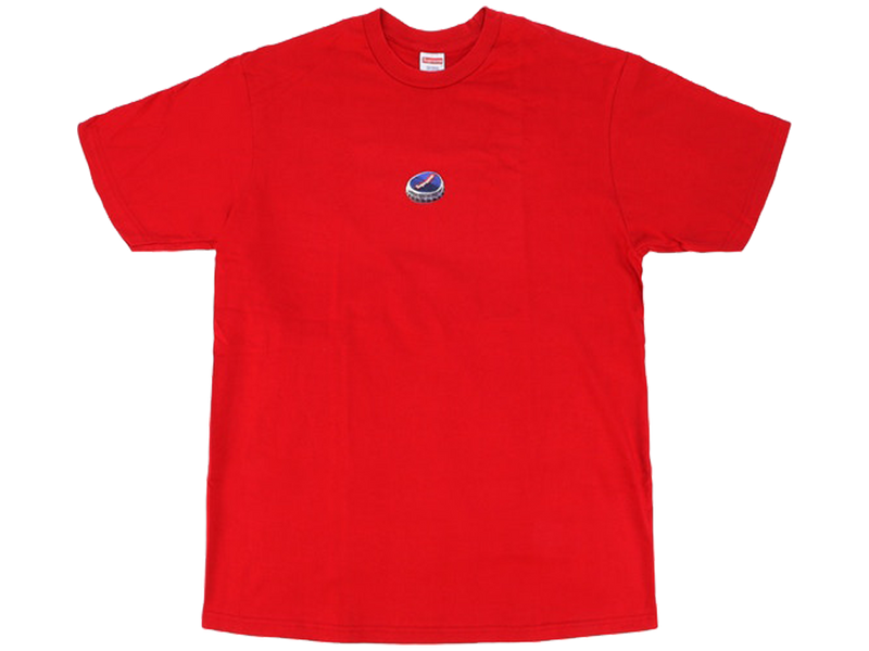 Supreme Bottle Cap Tee Red