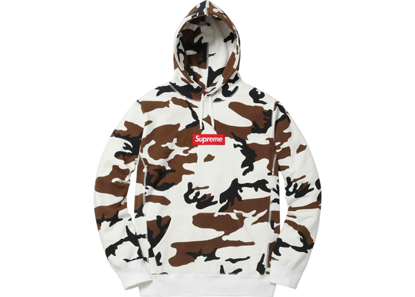 Supreme Box Logo Hooded Sweatshirt Camo
