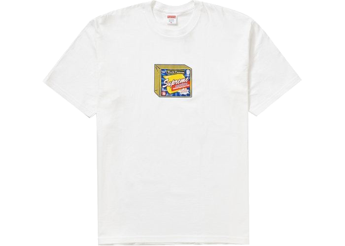 Supreme Cheese Tee White