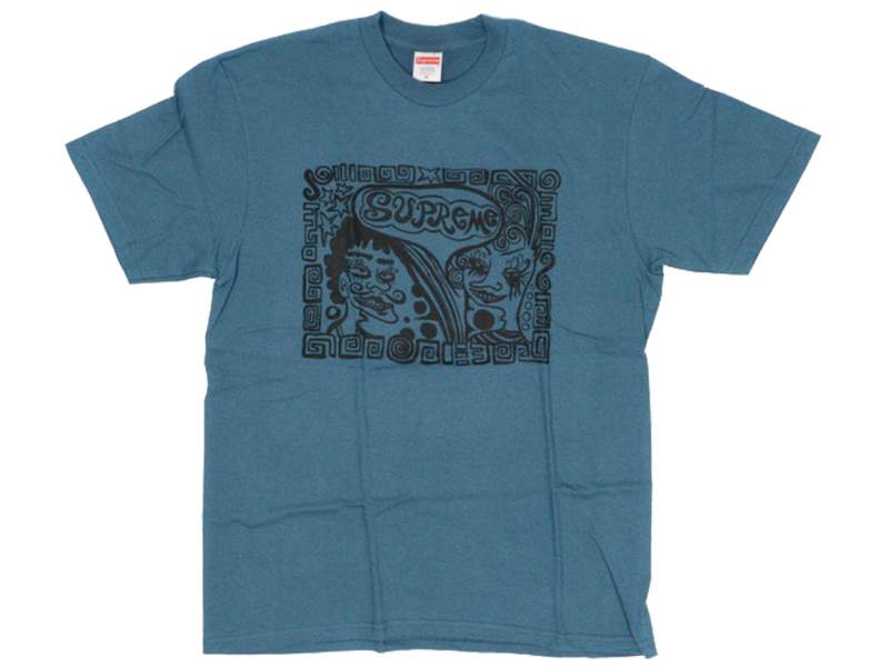 Supreme Faces Tee Slate