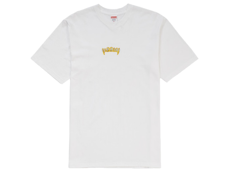 Supreme Fronts Tee White