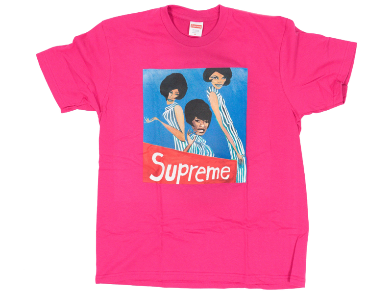 Supreme Group Tee Dark Pink