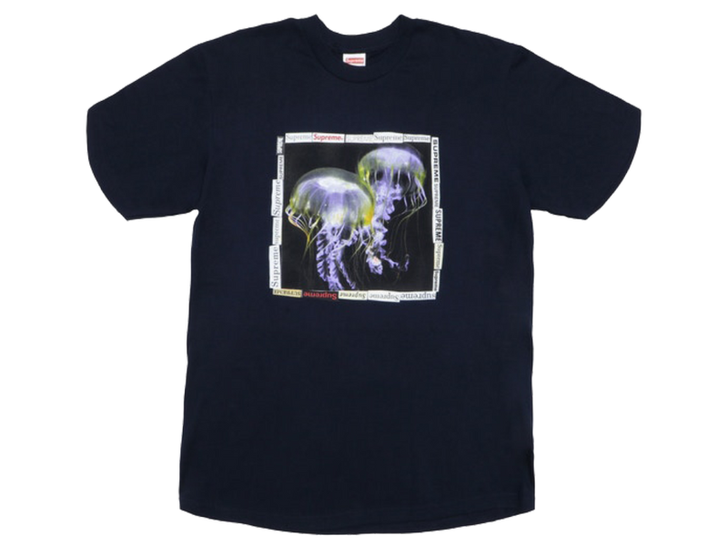Supreme Jellyfish Tee Navy