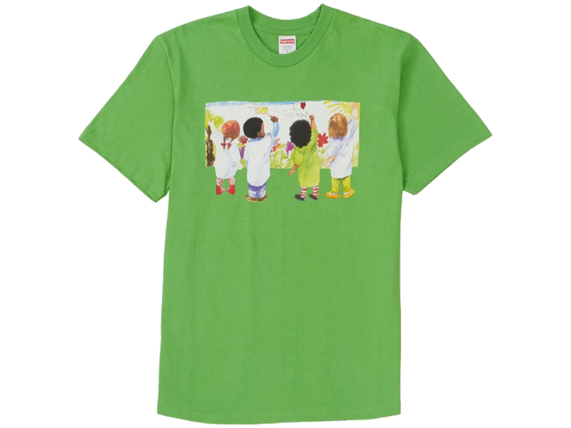 Supreme Kids Tee Green