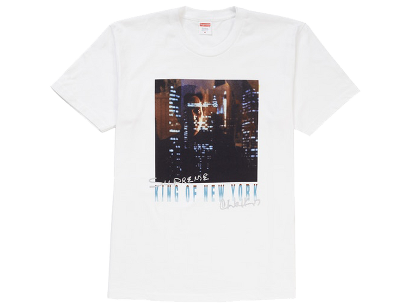 Supreme King of New York Tee White