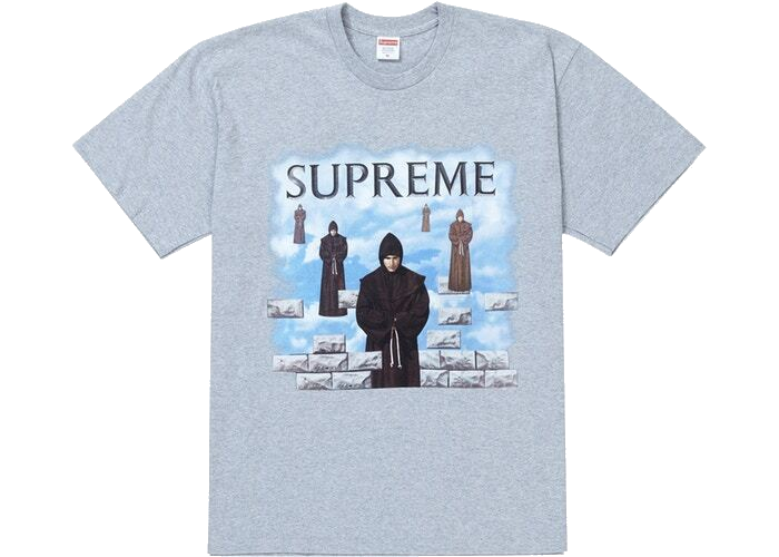 Supreme Levitation Tee Heather Grey