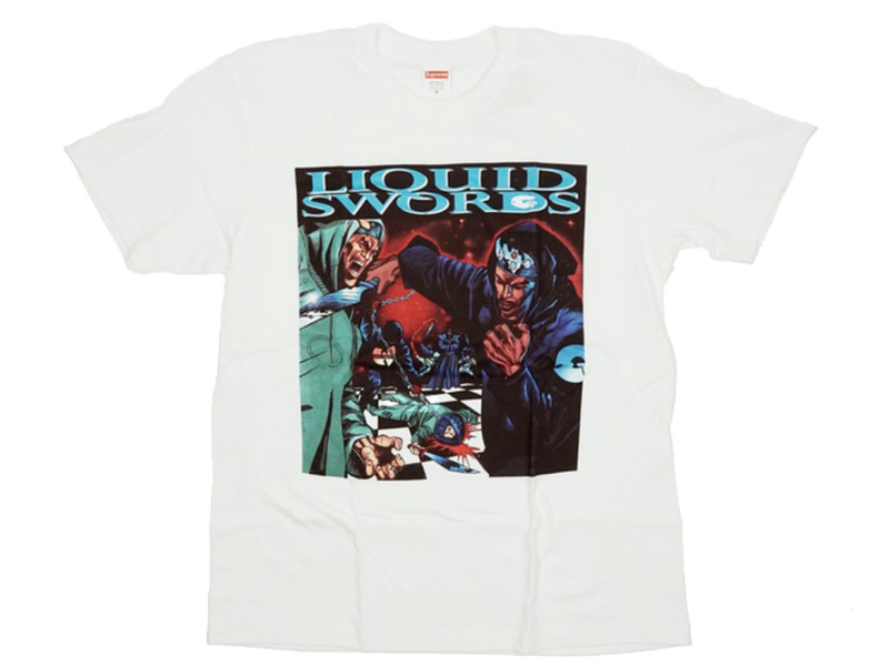 Supreme Liquid Swords Tee White
