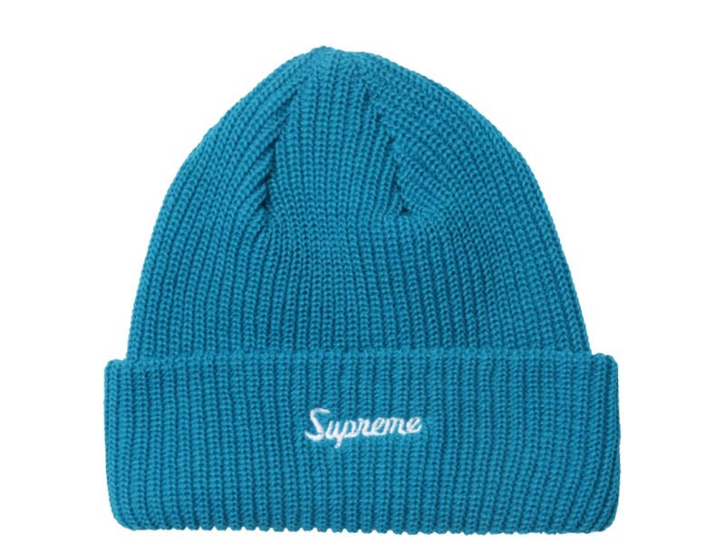 Supreme Loose Gauge Beanie (FW18) Teal