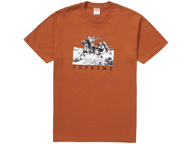 Supreme Riders Tee Rust