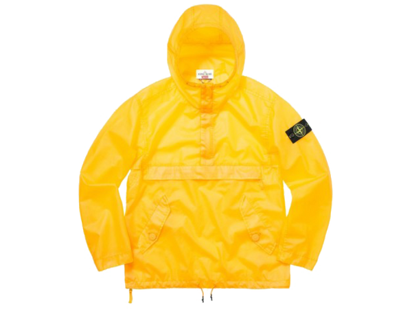 Supreme Stone Island Poly Cover Composite Anorak Yellow