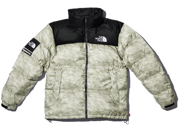 Supreme The North Face Nuptse Paper Print