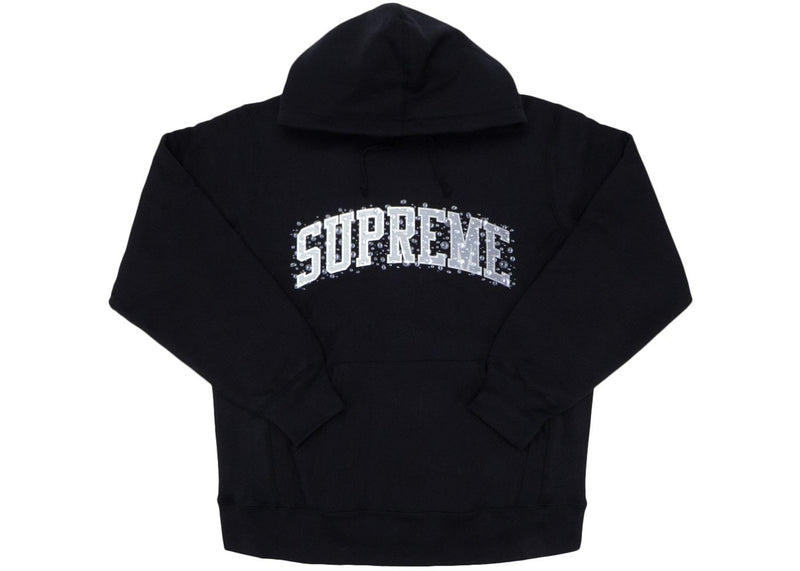 Supreme Water Arc Hooded Sweatshirt Black