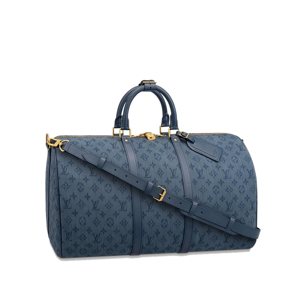 Louis Vuitton Monogram Denim Keepall