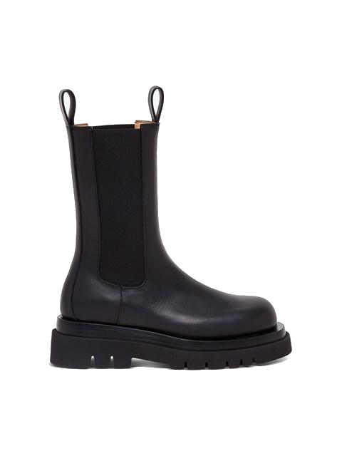 Bottega Veneta Storm Chelsea Leather Boots