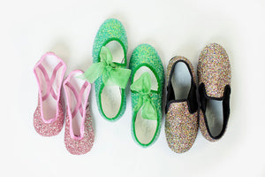 Dreamy Dancers Shoes: Choosing Glitter Color Names