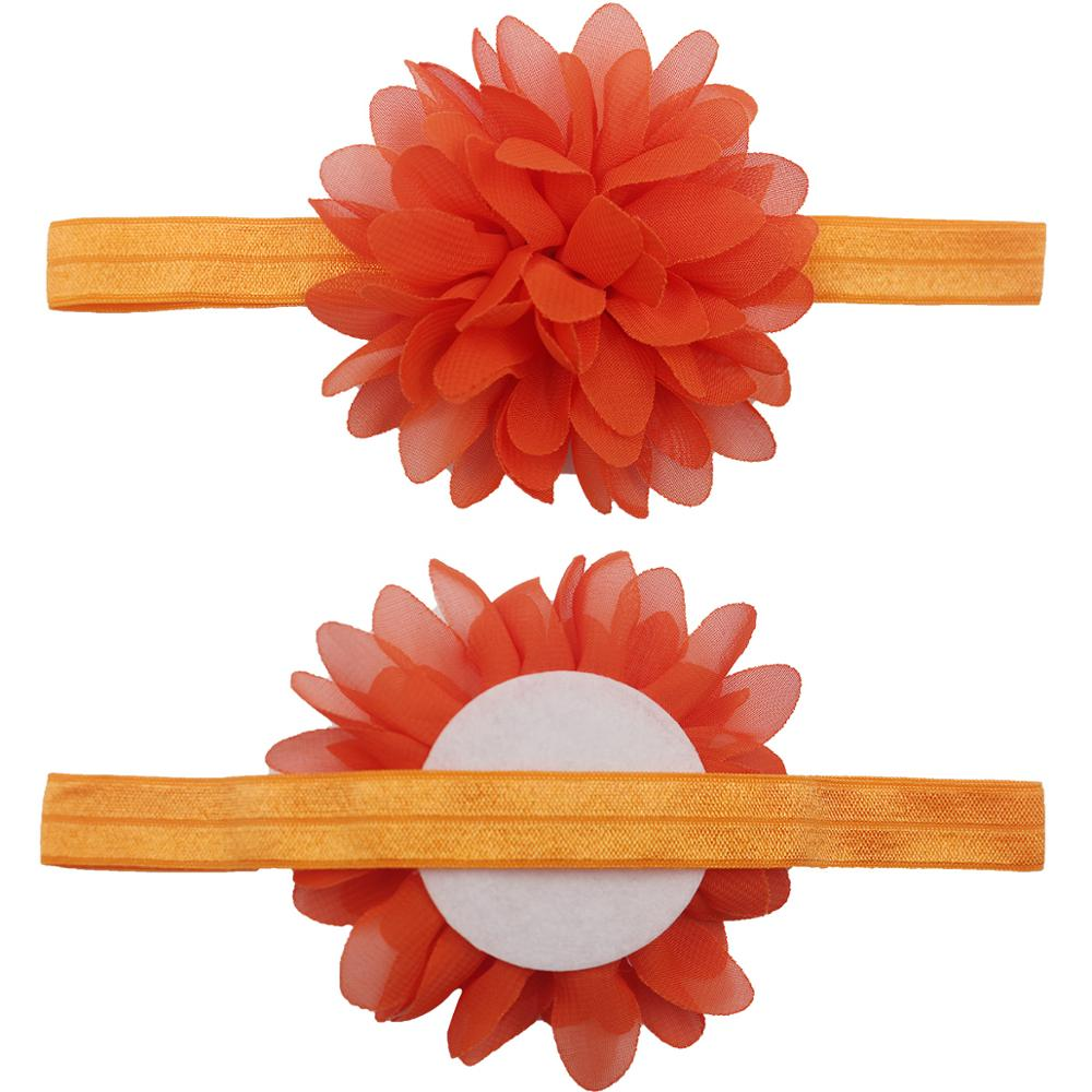 Chiffon Flower Headbands