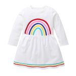 Load image into Gallery viewer, Rainbow Long Sleeve Dress