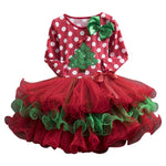 Load image into Gallery viewer, Girls Christmas Tree or Reindeer Tutu Dress