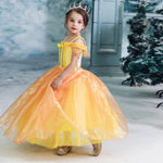 Load image into Gallery viewer, Yellow Tulle Princess Dress