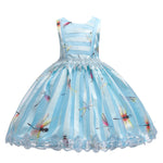 Load image into Gallery viewer, Girls Dragonfly Ball Gown