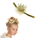 Load image into Gallery viewer, Girls Crown Headband
