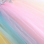 Load image into Gallery viewer, Girls Pastel Rainbow Dress