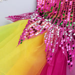 Load image into Gallery viewer, Girl's Tutu Sequin Dress