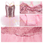 Load image into Gallery viewer, Girls Sequin Tutu Dress