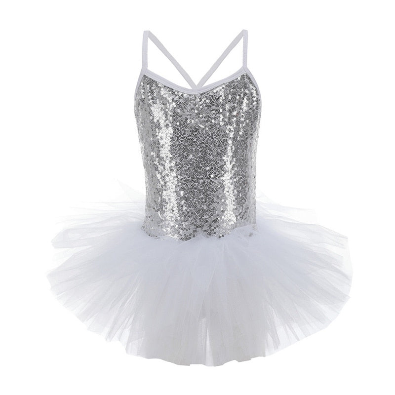 Girls Sequin Tutu Dress