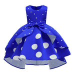 Load image into Gallery viewer, Girls Polka Dot Ballgown