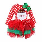 Load image into Gallery viewer, Baby Girl Christmas Tutu Dress
