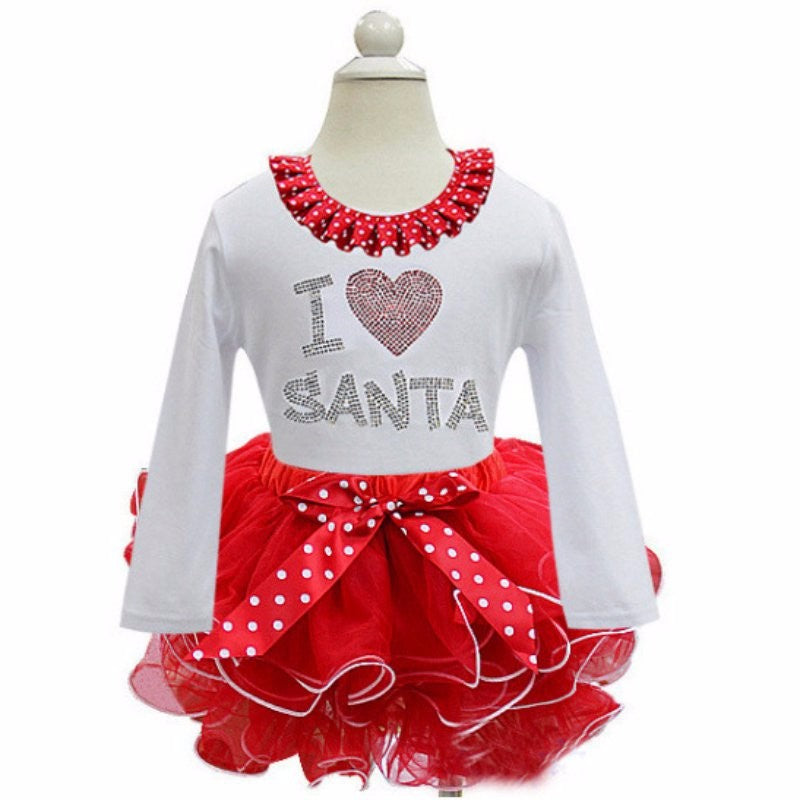 Baby Girl Christmas Tutu Dress