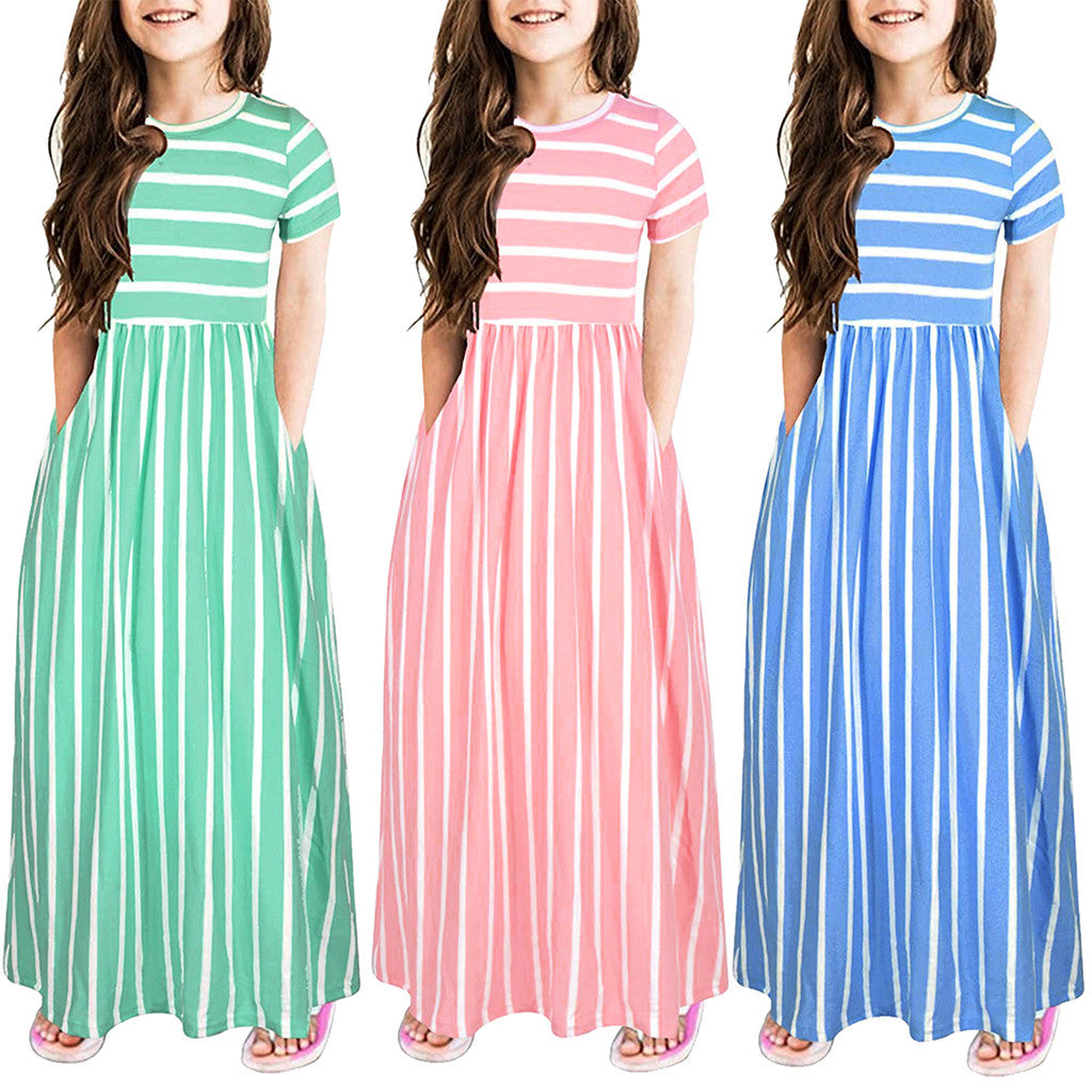 Girls Maxi Dresses Summer
