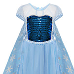Load image into Gallery viewer, Snowflake Princess Dress