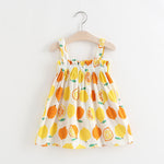Load image into Gallery viewer, Girls Lemon Sundress