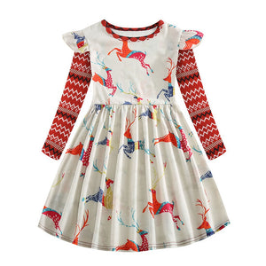 Girls Woodland Creatures Dress