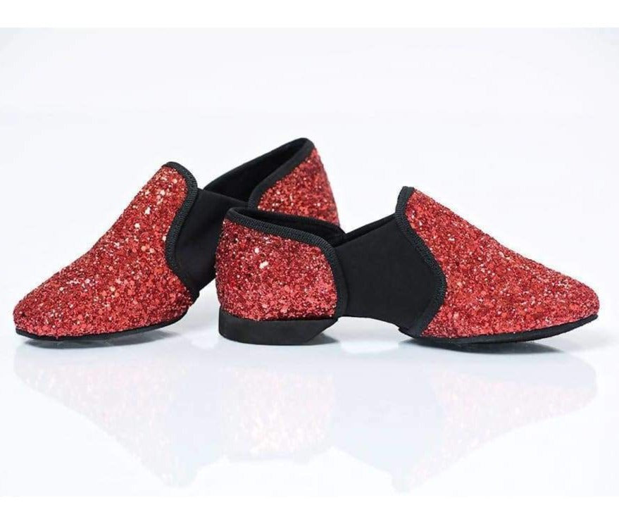 Hand Crafted Glitter Jazz Dance Shoe - Gifts