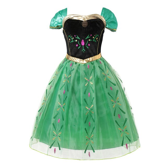 Summer Princess Anna Dress