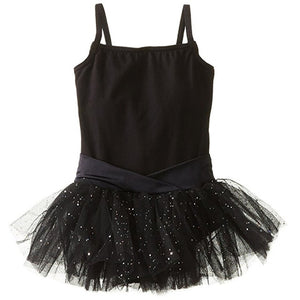 Girls Ballet Leotard Dress with Tutu
