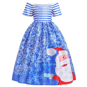 Girls Christmas Ball Gown