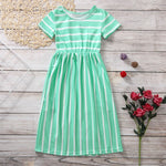Load image into Gallery viewer, Girls Maxi Dresses Summer