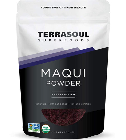 Vegan - Maqui Berry Powder - Organic - 4 Ounces