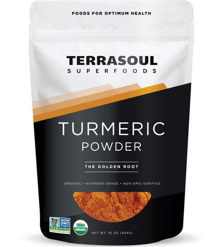 Vegan - Organic Turmeric Powder -16 Ounces