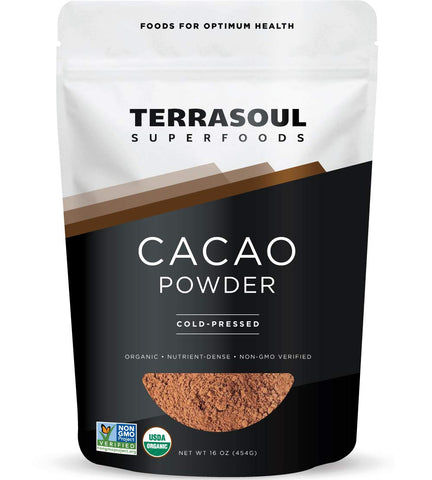 Vegan - Raw Organic Cacao Powder - 1 Lb