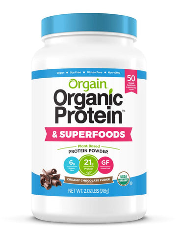 Vegan - Organic Protein & Superfoods - Creamy Chocolate Fudge