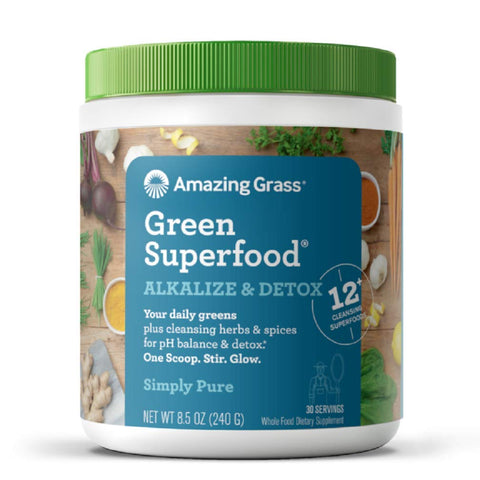 Alkalize & Detox - Green Superfood - 8.5 Ounces